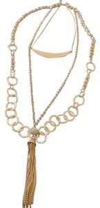 Chico's Chico's 3 IN 1 NECKLACE JACI TRIPLE-LAYER NEW $69 Tag!!