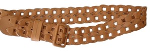 Chico's Chico's Tan Leather LUCY LANE BELT Size Large New with $69 Tags
