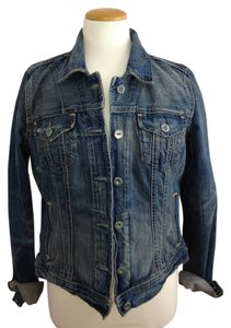 Polo Ralph Lauren Faded Blue Womens Jean Jacket