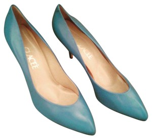 Glacée High Heels Turquoise Pumps