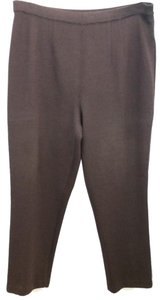 St. John Brown Knit Pants