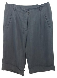 3.1 Phillip Lim Black Cuffed Shorts