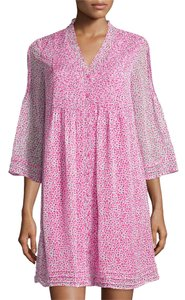 Diane von Furstenberg short dress SEA DAISY PINK Dvf Wrap Oblixe Resort Dvf Wrap on Tradesy