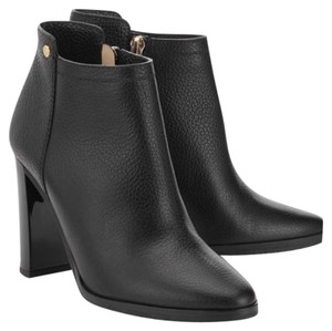 Jimmy Choo Black grainy leather Boots