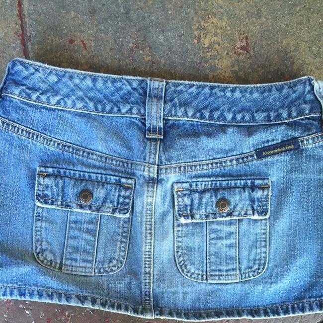 Abercrombie & Fitch Skirt Blue
