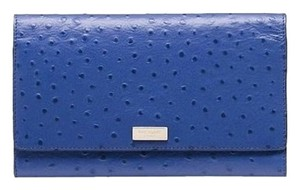 Kate Spade lake blue Clutch