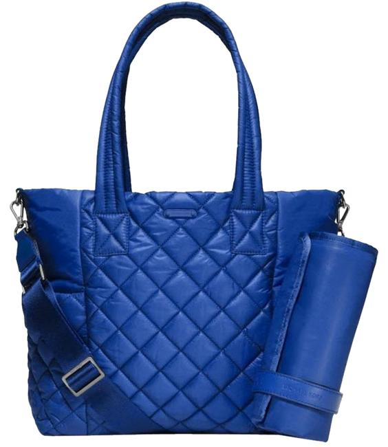Item - Duffle Roberts Large Quilted Electr Blue Nylon Diaper Bag