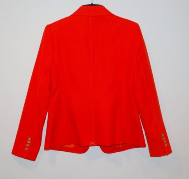 Talbots orange Blazer