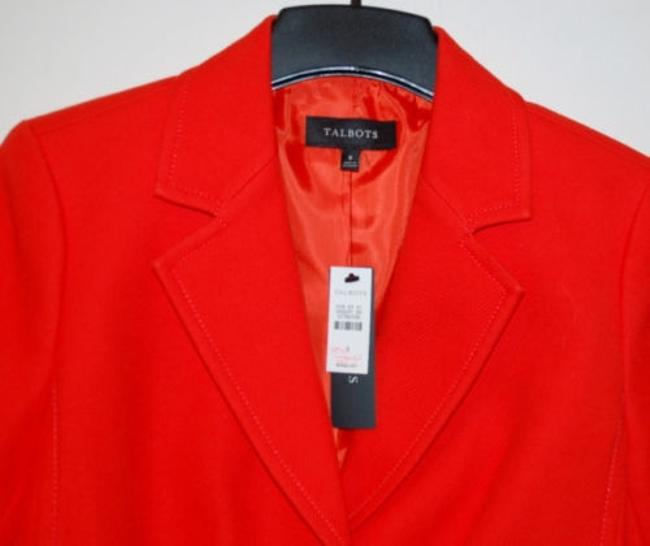 Talbots orange Blazer Image 3
