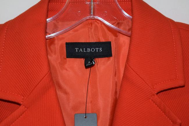 Talbots orange Blazer Image 4
