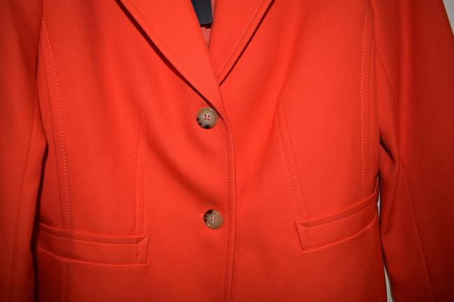 Talbots orange Blazer Image 5