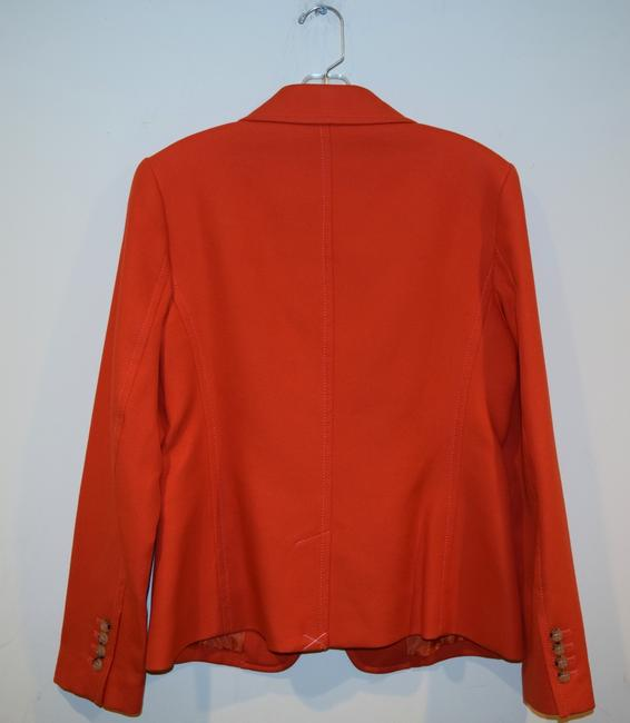 Talbots orange Blazer Image 8