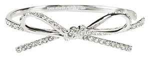Kate Spade kate spade new york SKINNY MINI PAVE BOW BANGLE shiny 12k plated metal