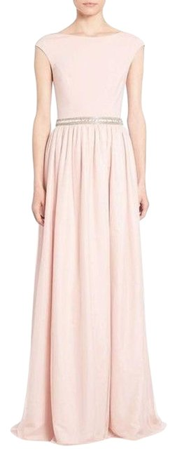 edfb9450201 on sale Aidan Mattox Pink Petal Cap-sleeve Embellished Combo Gown Dress -  30%