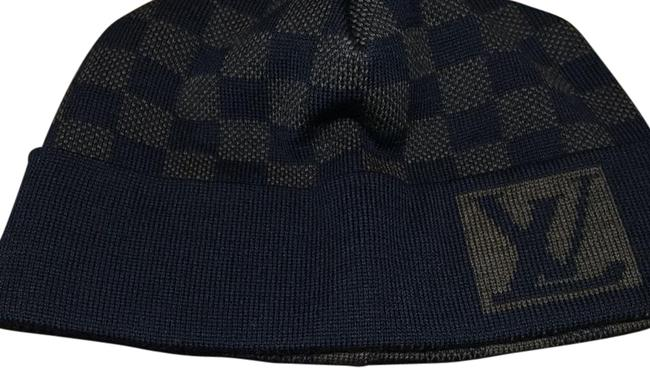 Item - Blue and Brown Beenie Hat