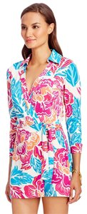 Diane von Furstenberg Dvf Romper Jumpsuit Wrap Silk Dress