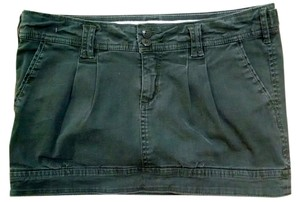 Abercrombie & Fitch Size 2 Short P1179 Green Mini Skirt Olive Green