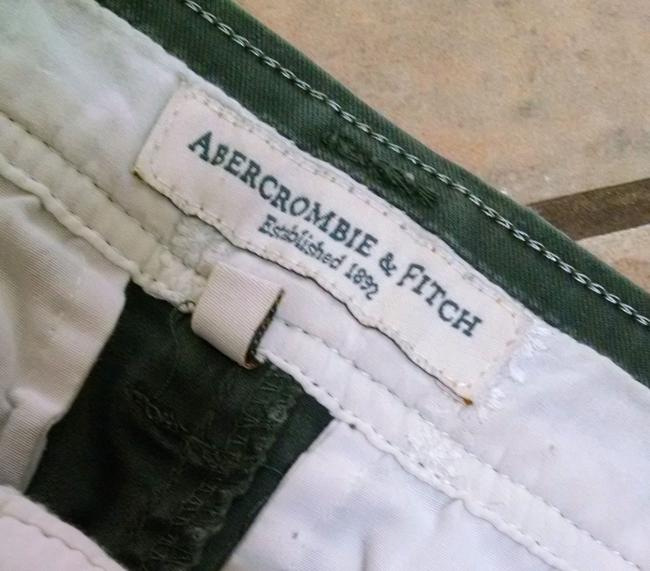 Abercrombie & Fitch Size 2 Short P1179 Mini Skirt Olive Green Image 1