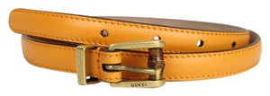 Gucci New Authentic Gucci Women Belt w/Bamboo Buckle Size 90/36 339065 7804