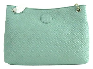 Tory Burch Quilted Tote in Northern Lights