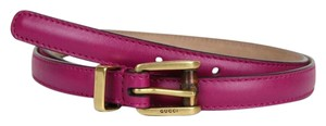 Gucci New Authentic Gucci Women Belt w/Bamboo Buckle Size 80/32 339065 5523