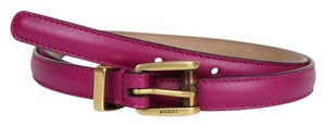 Gucci New Authentic Gucci Women Belt w/Bamboo Buckle Size 90/36 339065 5523