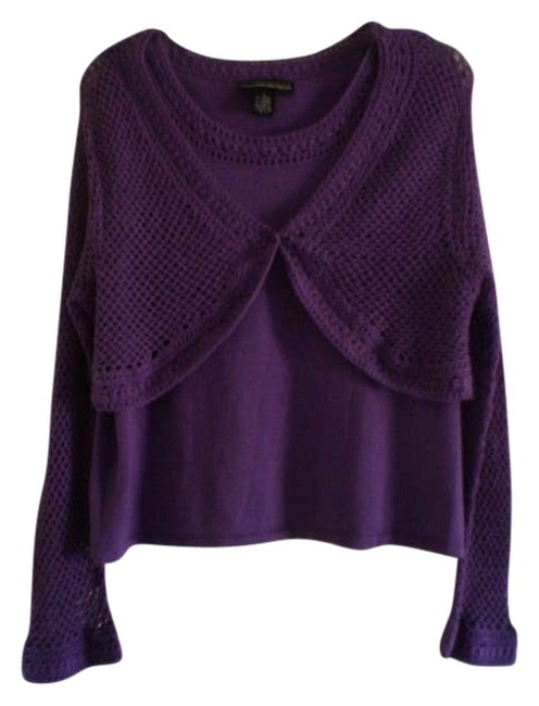 Preload https://item3.tradesy.com/images/norton-mcnaughton-purple-like-new-sweaterpullover-size-16-xl-plus-0x-181467-0-0.jpg?width=400&height=650
