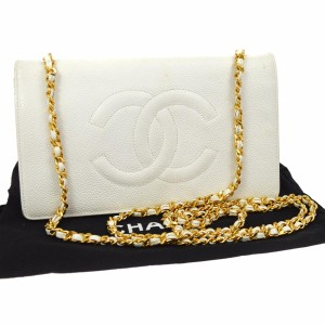 Chanel White Messenger Bag