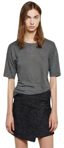 Isabel Marant Mini Skirt Gray