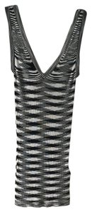 Missoni Classic Print Top black and white