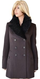 Burberry Fur Jacket Wool Prorsum Cashmere Coat