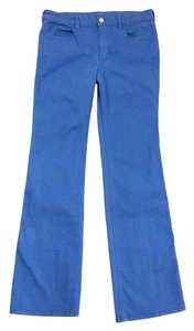 Tory Burch Azure Blue Boot Cut Jeans