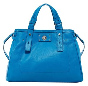 Marc by Marc Jacobs Satchel in Aquamarine Blue