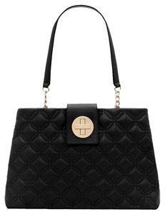 Kate Spade Quilted Elena Tote in Black