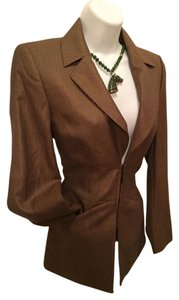Escada copper brown Blazer