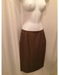Escada Skirt copper brown