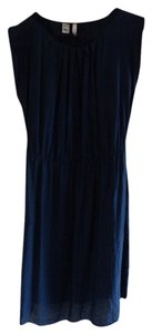 Mango short dress Dark blue on Tradesy