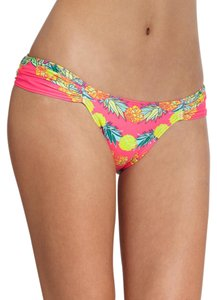 Mara Hoffman garland pineapple print bikini bottom
