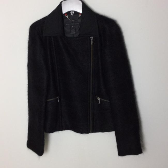 Marc by Marc Jacobs Dark Charcoal Melange Multi in Black Jacket