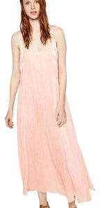 Blush pink Maxi Dress by Zara