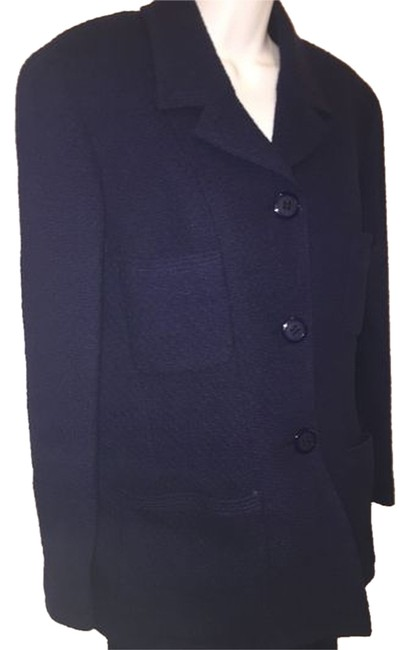 Preload https://item5.tradesy.com/images/chanel-blue-blazer-size-os-one-size-1814939-0-0.jpg?width=400&height=650