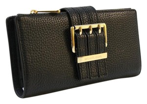 Michael Kors Wallet 38f5xgae3l Black Clutch