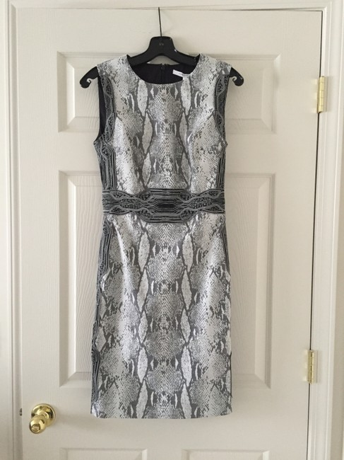Preload https://img-static.tradesy.com/item/1814954/diane-von-furstenberg-silve-black-grey-combo-dvf-short-night-out-dress-size-4-s-0-0-650-650.jpg