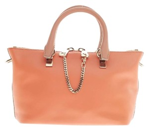 Chloé Chloe Leather Satchel in Tan