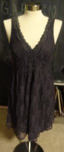 Lace Lacy Grey Dress