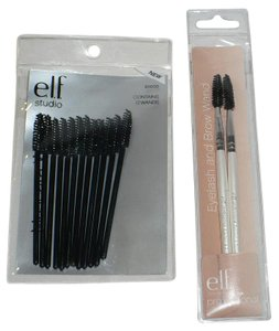 e.l.f. e.l.f. Mascara Applicator (12) + Eyelash and Brow Wand (2)