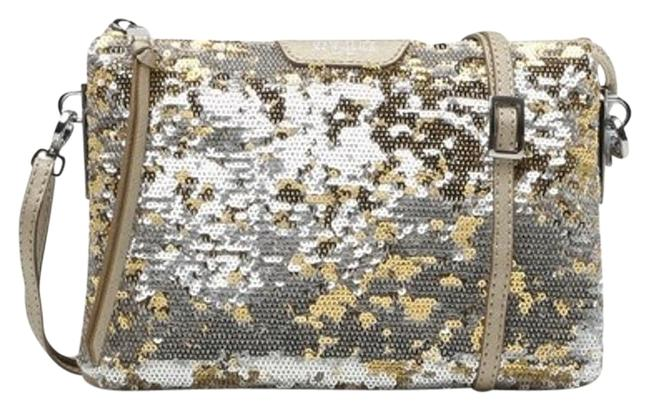 Item - Pippa Sequin Gold Leather Cross Body Bag