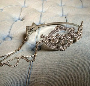 Rhinestone Headband Crown Boho Vintage Inspired Prom Over Sized Tiara