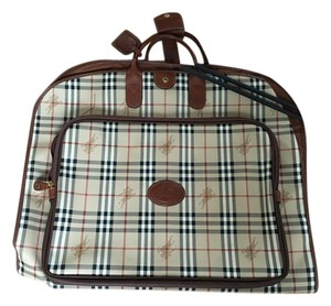 Burberry Tan check Travel Bag