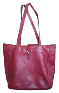 Ralph Lauren Tote in Dark red